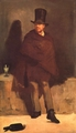 Art - Oil Paintings - Masterpiece #4278 - Edouard Manet - The Absinthe Drinker - Gallery Quality