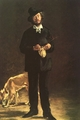 Art - Oil Paintings - Masterpiece #4292 - Edouard Manet - Portrait of Gilbert Marcellin Desboutin - Gallery Quality