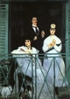 Art - Oil Paintings - Masterpiece #4296 - Edouard Manet - The Balcony - Gallery Quality