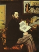 Art - Oil Paintings - Masterpiece #4297 - Edouard Manet - Portrait of Emile Zola - Gallery Quality