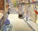 Art - Oil Paintings - Masterpiece #4298 - Edouard Manet - Rue Mosnier with Flags - Gallery Quality