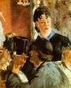 Art - Oil Paintings - Masterpiece #4301 - Edouard Manet - The Waitress - Gallery Quality