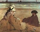 Art - Oil Paintings - Masterpiece #4306 - Edouard Manet - On the Beach - Gallery Quality