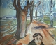 Art - Oil Paintings - Masterpiece #4323 - Edvard Munch - The Murderer on the Lane - Gallery Quality