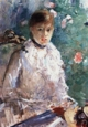 Art - Oil Paintings - Masterpiece #4329 - Berthe Morisot - Summer (Young Woman by a Window) - Museum Quality
