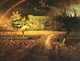 Art - Oil Paintings - Masterpiece #4334 - Jean Francois Millet - Spring ll - Gallery Quality