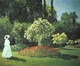 Art - Oil Paintings - Masterpiece #4346 - Claude Monet - Jeanne-Marguerite Lecadre in the Garden - Gallery Quality