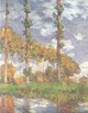 Art - Oil Paintings - Masterpiece #4352 - Claude Monet - Poplars at Giverny - Gallery Quality