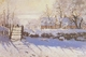 Art - Oil Paintings - Masterpiece #4360 - Claude Monet - The Magpie - Gallery Quality