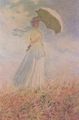 Art - Oil Paintings - Masterpiece #4362 - Claude Monet - Study of a Figure Outdoors - Museum Quality