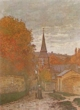 Art - Oil Paintings - Masterpiece #4367 - Claude Monet - Street in Fecamp - Museum Quality