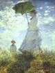 Art - Oil Paintings - Masterpiece #4374 - Claude Monet - Woman with a Parasol - Gallery Quality