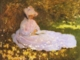 Art - Oil Paintings - Masterpiece #4375 - Claude Monet - A Woman Reading - Gallery Quality
