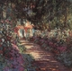Art - Oil Paintings - Masterpiece #4382 - Claude Monet - The Garden in Flower - Gallery Quality