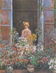 Art - Oil Paintings - Masterpiece #4383 - Claude Monet - Camille at the Window - Museum Quality
