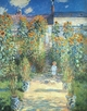 Art - Oil Paintings - Masterpiece #4384 - Claude Monet - Artist s Garden at Vetheuil - Gallery Quality