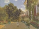 Art - Oil Paintings - Masterpiece #4386 - Claude Monet - Artist s House at Argenteuil gggg - Gallery Quality