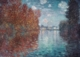 Art - Oil Paintings - Masterpiece #4404 - Claude Monet - Autumn at Argenteuil - Gallery Quality