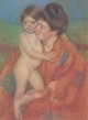 Art - Oil Paintings - Masterpiece #4422 - Mary Cassatt - Woman with Baby ff - Museum Quality