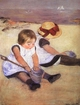 Art - Oil Paintings - Masterpiece #4423 - Mary Cassatt - Children Playing on the Beach - Gallery Quality
