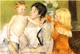 Art - Oil Paintings - Masterpiece #4424 - Mary Cassatt - After the Bath - Museum Quality