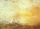 Art - Oil Paintings - Masterpiece #4455 - Joseph Mallord William Turner - Sunrise with Sea Monsters - Gallery Quality