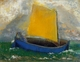 Art - Oil Paintings - Masterpiece #4460 - Odilon Redon - The Mystical Boat - Gallery Quality