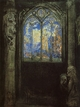 Art - Oil Paintings - Masterpiece #4462 - Odilon Redon - Stained Glass Window - Gallery Quality