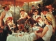 Art - Oil Paintings - Masterpiece #4463 - Pierre Renoir - Luncheon of the Boating Party - Gallery Quality