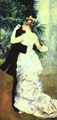 Art - Oil Paintings - Masterpiece #4467 - Pierre Renoir - Dance in the Town - Museum Quality