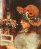 Art - Oil Paintings - Masterpiece #4469 - Pierre Renoir - Young Girl Reading - Gallery Quality