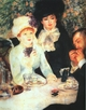Art - Oil Paintings - Masterpiece #4494 - Pierre Renoir - The End of the Luncheon - Gallery Quality