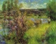 Art - Oil Paintings - Masterpiece #4496 - Pierre Renoir - The Seine at Chatou - Gallery Quality