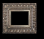 Art - Picture Frames - Oil Paintings & Watercolors - Frame Style #653 - 12x16 - Silver - Silver Ornate Frames
