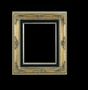 Art - Picture Frames - Oil Paintings & Watercolors - Frame Style #659 - 8x10 - Traditional Gold - Gold  Frames