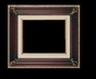 Art - Picture Frames - Oil Paintings & Watercolors - Frame Style #671 - 24x36 - Wood Tone & Gold - Ornate Frames