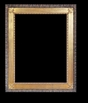 Art - Picture Frames - Oil Paintings & Watercolors - Frame Style #675 - 24x36 - Wood Tone & Gold - Wood & Gold Frames