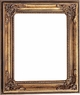 Picture Frames 12 x 16 - Gold Picture Frame - Frame Style #351 - 12x16
