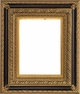 12 X 16 Picture Frames - Black and Gold Ornate Picture Frames - Frame Style #411 - 12 X 16