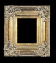 Art - Picture Frames - Oil Paintings & Watercolors - Frame Style #613 - 12x16 - Antique Gold - Ornate Verdigris Frames
