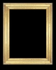Art - Picture Frames - Oil Paintings & Watercolors - Frame Style #638 - 12x16 - Light Gold - Gold  Frames