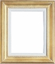 "Picture Frames 12"" x 24"" - Gold Picture Frames - Frame Style #336 - 12 x 24"