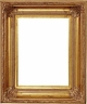 "Picture Frames 12""x24"" - Gold Picture Frame - Frame Style #341 - 12x24"
