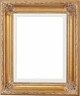 "Picture Frames 12""x24"" - Gold Picture Frame - Frame Style #342 - 12x24"