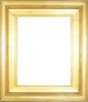 "Picture Frames 12 x 24 - Gold Picture Frames - Frame Style #353 - 12""x24"""