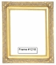 Picture Frames - Oil Paintings & Watercolors - Frame Style #1218 - 16X20 - Traditional Gold