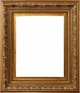 "Picture Frames 16""x20"" - Gold Picture Frames - Frame Style #327 - 16 x 20"