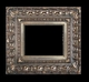 Art - Picture Frames - Oil Paintings & Watercolors - Frame Style #653 - 16x20 - Silver - Silver Ornate Frames