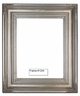Picture Frames - Oil Paintings & Watercolors - Frame Style #1234 - 18X24 - Silver