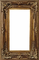 Picture Frames 20 x 20 - Gold Ornate Picture Frame - Frame Style #367 - 20x20